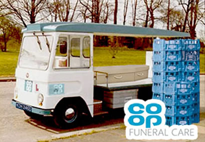 Co-Op funeralcare hearse