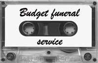 Funeral service tape